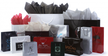 Assorted Gloss Laminated Bags Hot Stamped