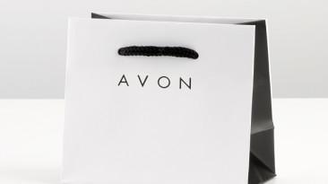 Custom Rope Handle Shopping Bags: Avon