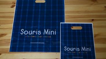 Custom Plastic Bags: Souris Mini