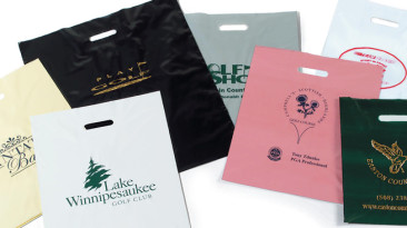 Patch Handle Bags- Hot Stamped