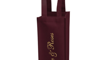 Vineyard Collection Non Woven Wine Bottle Bags: One Bottle Bag