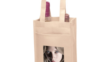 Vineyard Collection Non Woven Wine Bottle Bags: Two Bottle Bag