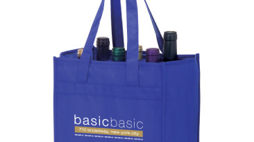 Vineyard Collection Non Woven Wine Bottle Bags: Six Bottle Bag