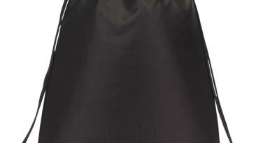 Drawstring Backpacks: E3500 Black