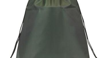 Drawstring Backpacks: E3500 Forest Green