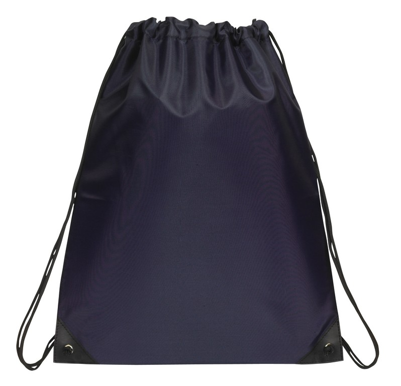Drawstring Backpack E3500 Navy Blue We Add Color To