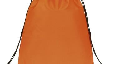 Drawstring Backpack: E3500 Orange
