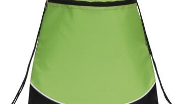 Drawstring Backpacks, Pocket Drawstring Backpacks: EDS102LG