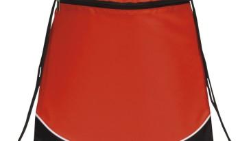 Drawstring Backpacks, Pocket Drawstring Backpack: EDS102RD