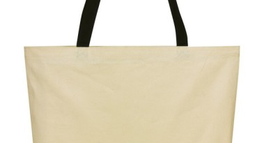 Cotton Tote Bag: EST1217BK
