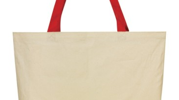 Cotton Tote Bag: EST1217RD