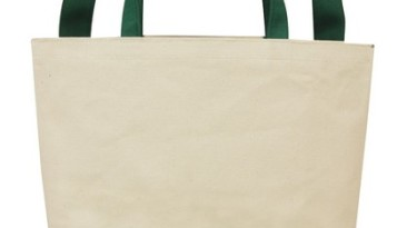 Cotton Tote Bag: ET1220GR