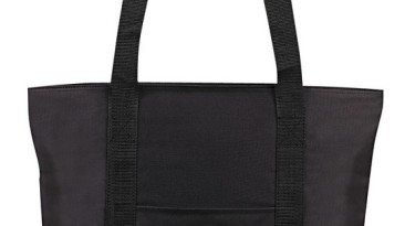 Tote Bag 600 Denier Zipper Closure: ET1226BK