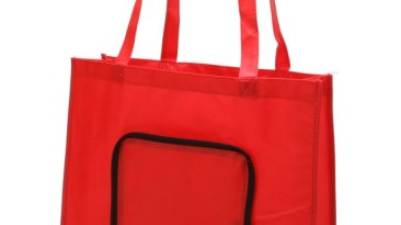 Non Woven Tote Bag / Folding Shopping Bags: ET907RD