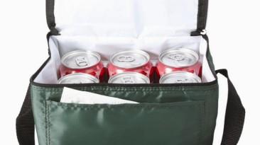 Insulated Cooler Bag: ECB112FG Open Top