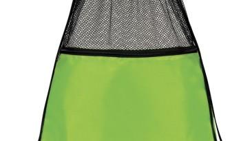 Mesh Drawstring Backpacks: EDS1221LG