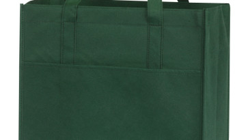 Non Woven Shopping Bags with Large Front Pocket: EST106GN