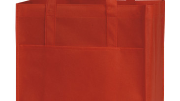 Non Woven Shopping Bags with Large Front Pocket: EST106RD