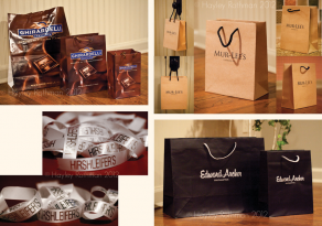 Custom Packaging: Hirshleifers, Ghirardelli, Edward Archer, Mur-Lees