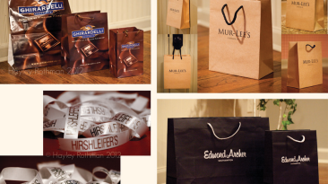 Custom Packaging: Hirshleifers, Ghirardelli, Edward Archer, Mur-Lees