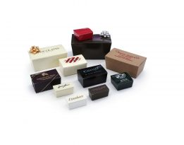 Contemporary Candy Boxes White Gloss and Gloss Colors