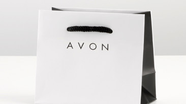 Custom Rope Handle Shopping Bags: Avon