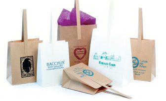 Handle Tote Shopping Bags & Apple Orcharge Bags