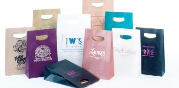 Handlelock Die Cut Paper Shopping Bags