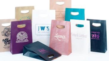 Handlelock Die Cut Paper Shopping Bags
