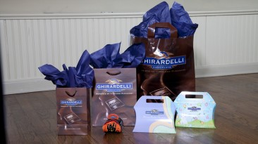 Custom Packaging: Ghirardelli