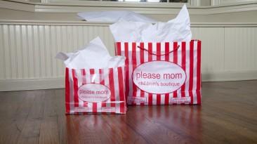 Custom Plastic Bags: Please Mom