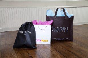 Custom Packaging: Mel Botteri, Style Watch, Zarin Fabrics