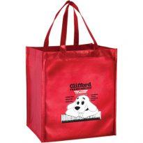 Metallic Gloss Designer Totes & Grocery Bags: ELM131015