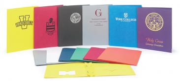 Leatherette-two-pocket-folders