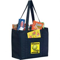 Recycled  P.E.T. Grocery Bags: ERPET12813EV