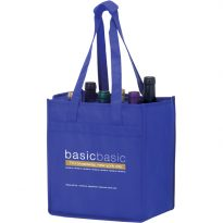 Vineyard Collection Non Woven Wine Bottle Bags: Six Bottle Bag