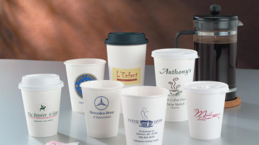 Paper Cups: White Hot Paper Cups
