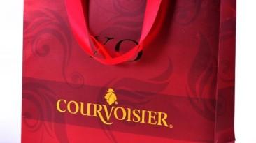 Paper Rope Handle Bag: Courvoisier