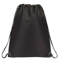 Drawstring Backpacks: E3500 Black