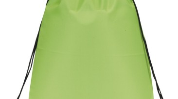 Drawstring Backpacks: E3500 Lime Green