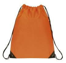 Drawstring Backpack: E3500 Orange