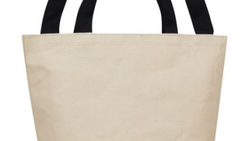 Cotton Tote Bag: ET1220BK