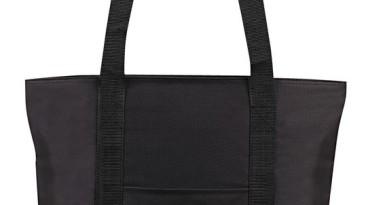 Tote Bag 600 Denier Zipper Closure: ET1226BK