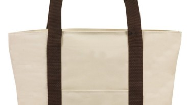 Tote Bag 600 Denier Zipper Closure: ET1226BN