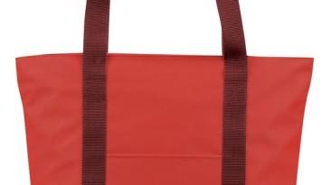 Tote Bag 600 Denier Zipper Closure: ET1226RD
