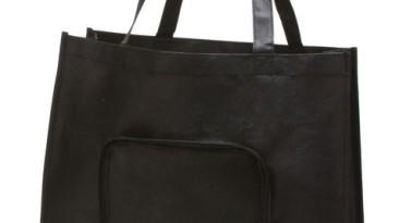 Non Woven Tote Bag / Folding Shopping Bags: ET907BK