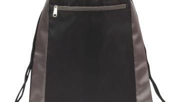 Deluxe Drawstring Backpacks: EDS101BK