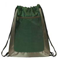 Deluxe Drawstring Backpacks: EDS101FG