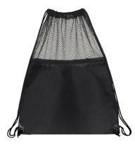 Mesh Drawstring Backpacks: EDS1221BK