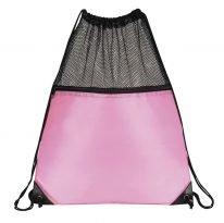 Mesh Drawstring Backpacks: EDS1221PK